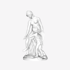 Download free STL file Venus teaching Cupid to use his bow at the Louvre, Paris, France • 3D print template, Louvre