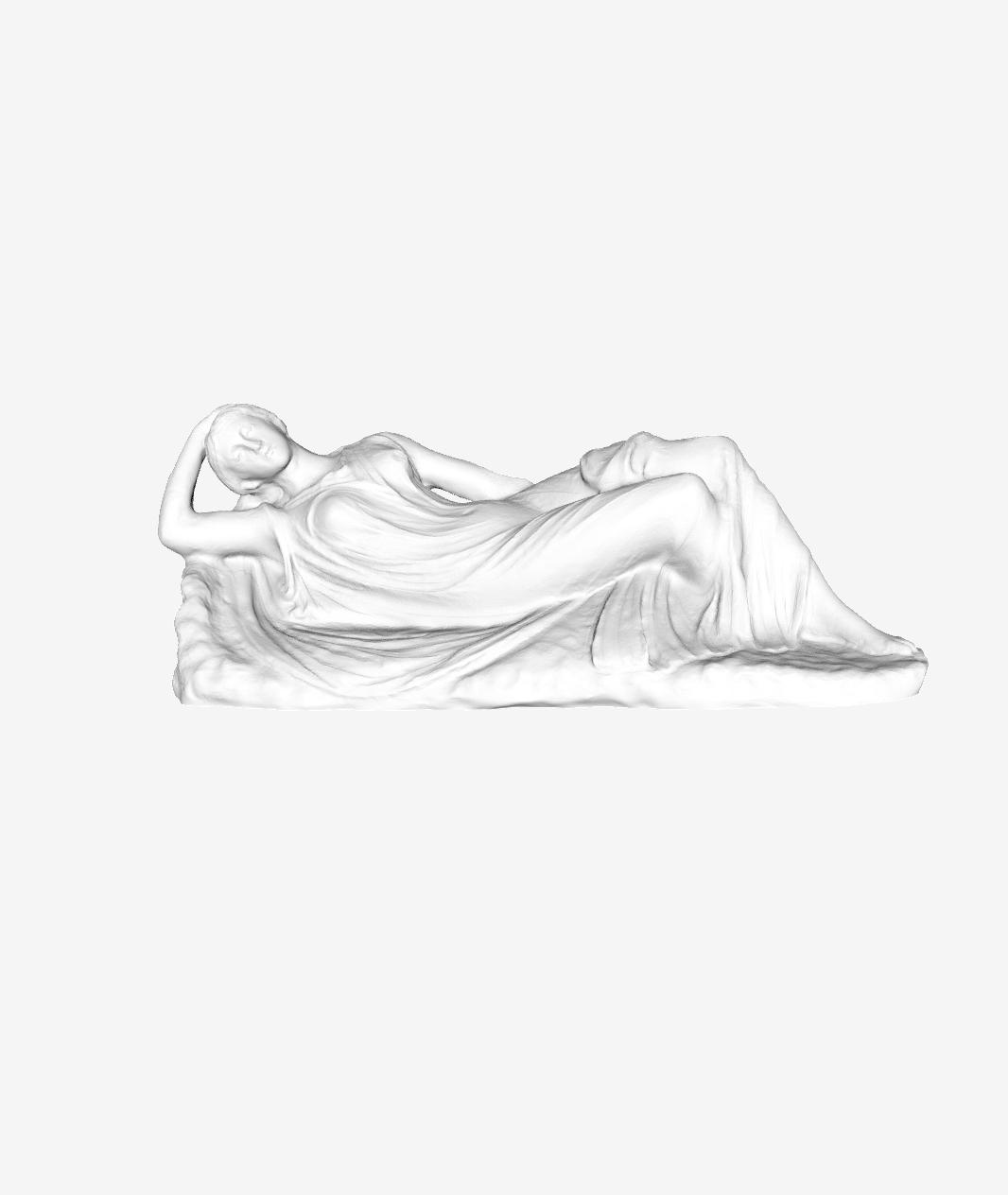 Capture d'écran 2018-09-21 à 18.12.30.png Download free STL file Sleeping Ariane at The Louvre, Paris • Design to 3D print, Louvre