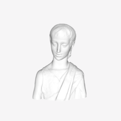 Download free STL file Saint John the Baptist at The Louvre, Paris • 3D printer object, Louvre