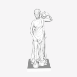 Download free 3D printer designs Nymphe Anchyrrhoé at the Lourve museum, Paris, Louvre