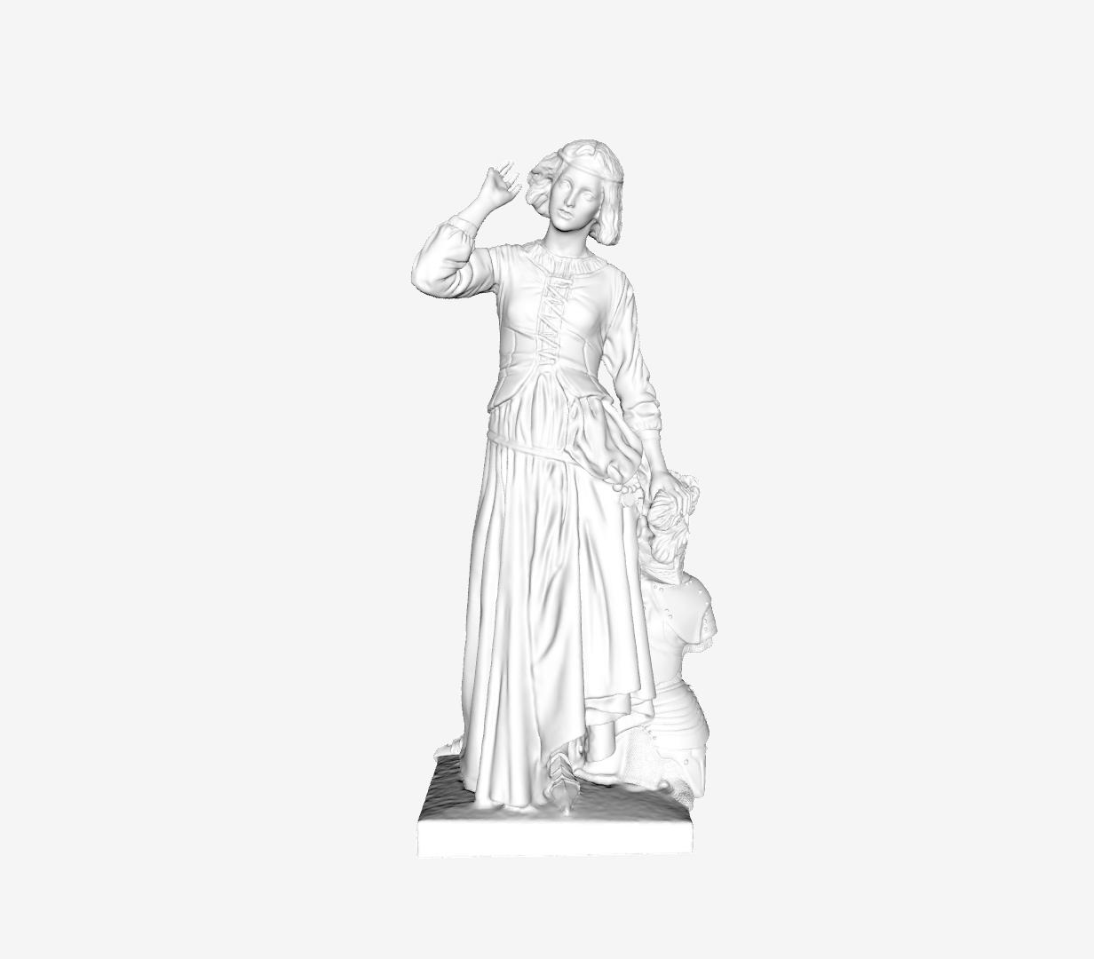 Capture d'écran 2018-09-21 à 13.02.31.png Download free STL file Jeanne d'Arc at The Louvre, Paris • Model to 3D print, Louvre