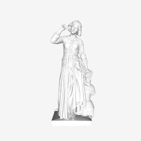 Download free 3D printing models Jeanne d'Arc at The Louvre, Paris, Louvre