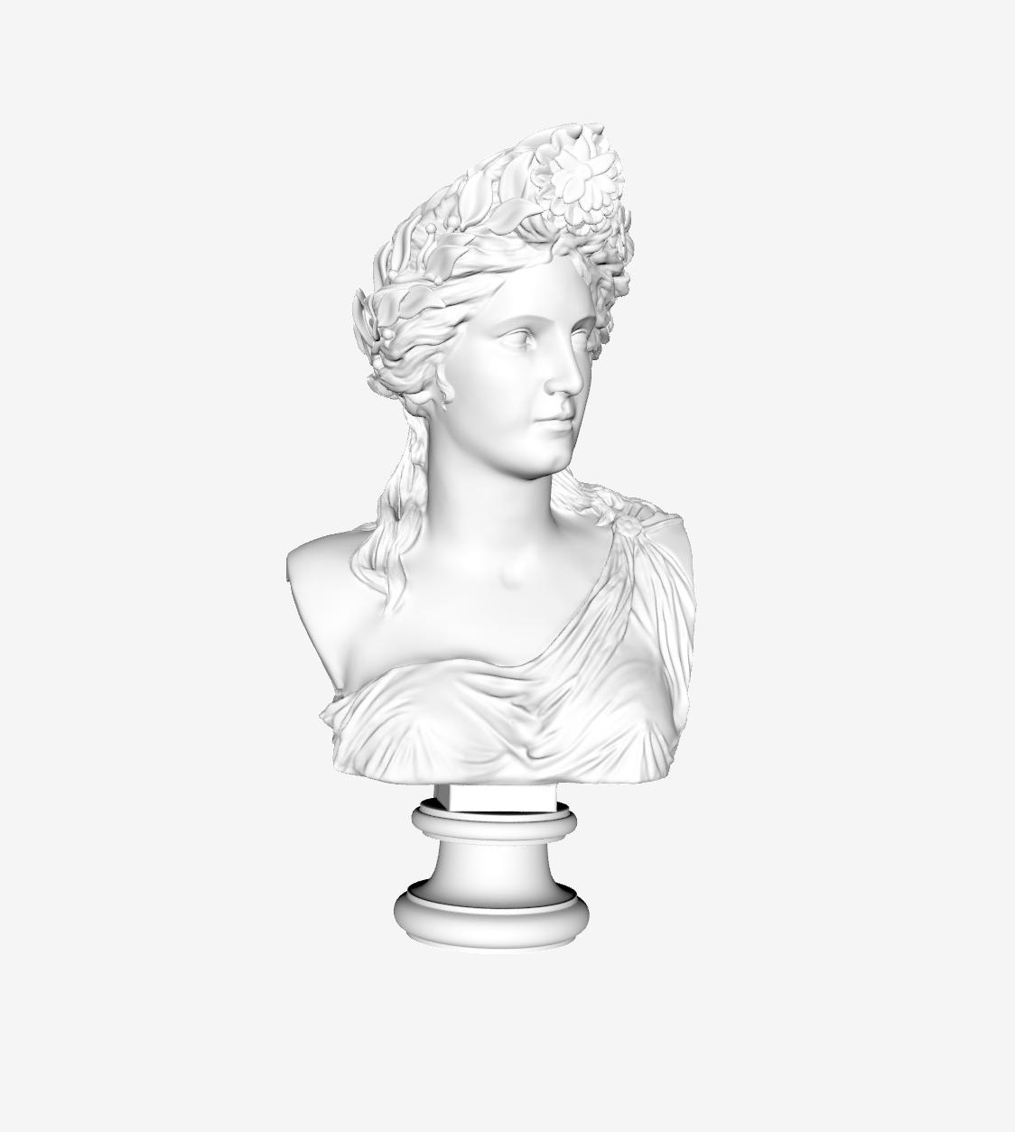 Capture d'écran 2018-09-21 à 12.25.48.png Download free STL file Corinne at The Louvre, Paris • 3D print model, Louvre