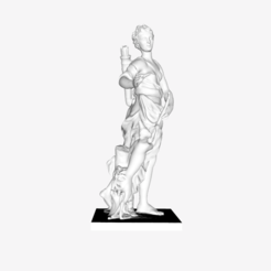 Download free 3D print files Companion of Diana III at the Louvre, Paris, France, Louvre
