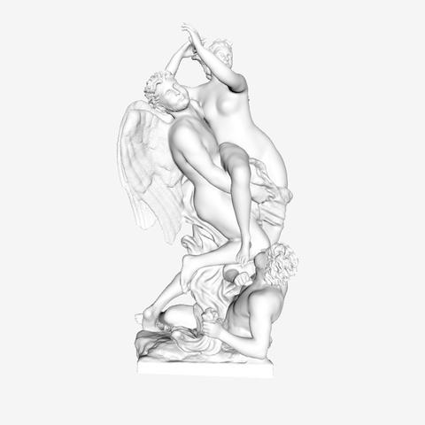 Capture d'écran 2018-09-21 à 16.32.13.png Download free STL file Boreas Abducting Oreithyia at The Louvre, Paris • 3D print design, Louvre