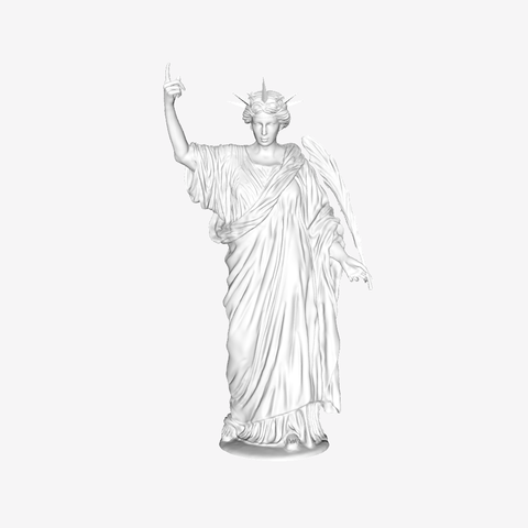 Download free STL file Immortality at The Louvre, Paris, Louvre