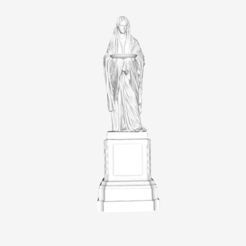 Download free 3D printer model Vestale at the Louvre, Paris, Louvre