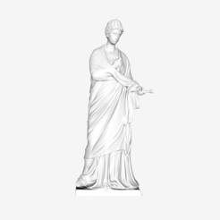 Free 3D model Draped Woman at The Louvre, Paris, Louvre