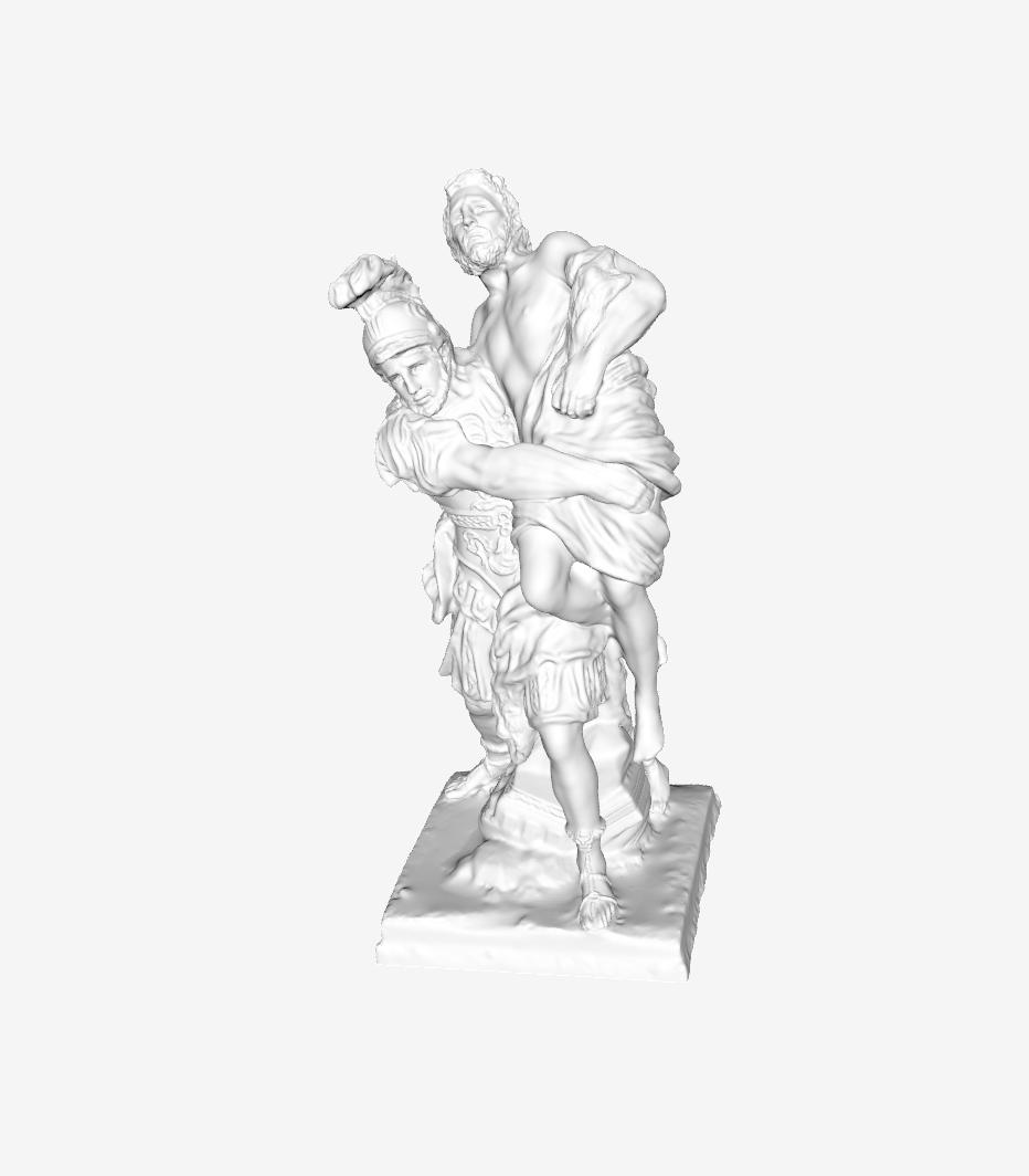 Capture d'écran 2018-09-21 à 11.20.39.png Download free STL file Aeneas and Anchises at The Louvre, Paris • 3D printer object, Louvre