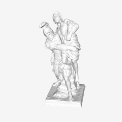 Download free 3D printing files Aeneas and Anchises at The Louvre, Paris, Louvre