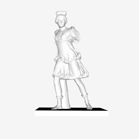 Capture d'écran 2018-09-21 à 18.33.15.png Download free STL file Diana (Artemis) of The Rospigliosi type at The Louvre, Paris • Design to 3D print, Louvre