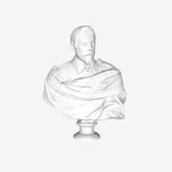 Download free 3D printing templates Annibale Carracci at The Louvre, Paris, Louvre