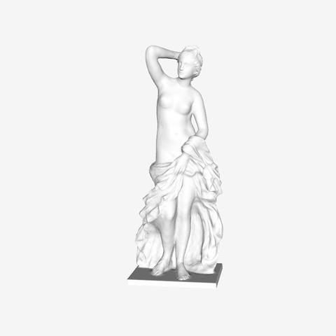Capture d'écran 2018-09-21 à 18.13.08.png Download free STL file Aphrodite at The Louvre, Paris • 3D print template, Louvre