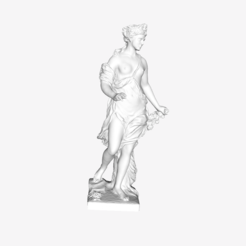 Download free 3D printer templates Flora at the Louvre, Paris, France, Louvre
