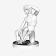 Capture d'écran 2018-09-21 à 11.47.30.png Download free STL file Bather playing with his dog at the Louvre, Paris, France • 3D print design, Louvre