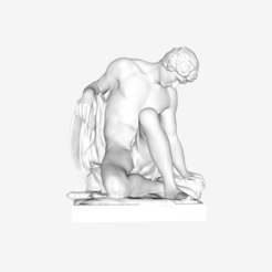 Download free 3D printer files Dying Gladiator at The Louvre, Paris, Louvre