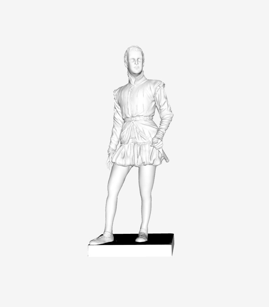 Capture d'écran 2018-09-21 à 12.32.20.png Download free STL file Henri IV at the Louvre, Paris, France • Template to 3D print, Louvre
