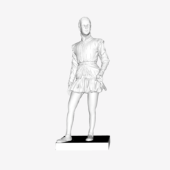 Download free STL file Henri IV at the Louvre, Paris, France • Template to 3D print, Louvre