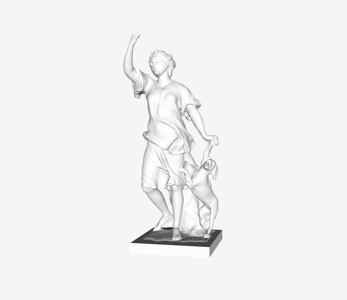 Capture d'écran 2018-09-21 à 11.36.21.png Download free STL file Companion of Diana II at the Louvre, Paris, France • 3D print design, Louvre