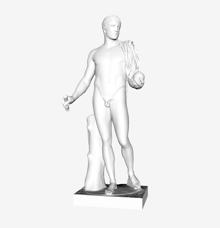 Capture d'écran 2018-09-21 à 14.42.13.png Download free STL file Diomedes at The Louvre, Paris • 3D printing template, Louvre