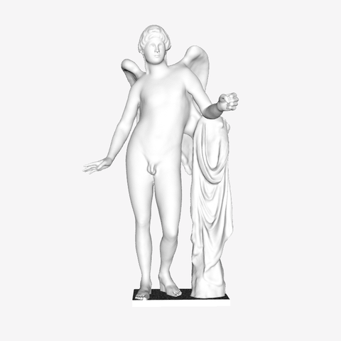 Download free STL file Eros Borghese at The Louvre, Paris • 3D printable object, Louvre