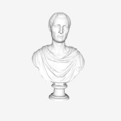 Download free STL file Portrait of a Man at The Louvre, Paris, Louvre