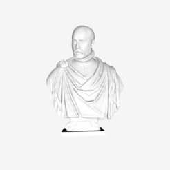 Download free STL file Portrait of a Venetian patrician at The Louvre, Paris • Template to 3D print, Louvre