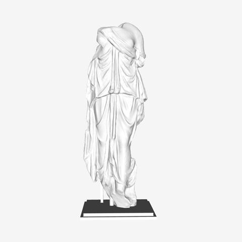 Download free 3D printer designs Torso of a Muse at The Louvre, Paris, Louvre