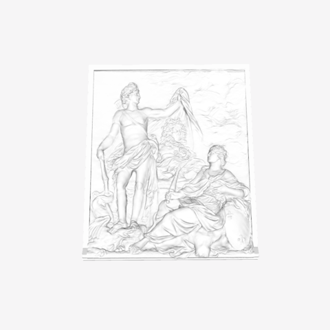 Capture d'écran 2018-09-21 à 15.32.14.png Download free STL file The God of Health shows the Bust of Louis XIV in the Louvre, Paris • Design to 3D print, Louvre