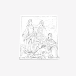 Capture d'écran 2018-09-21 à 15.32.14.png Download free STL file The God of Health shows the Bust of Louis XIV in the Louvre, Paris • Design to 3D print, Louvre