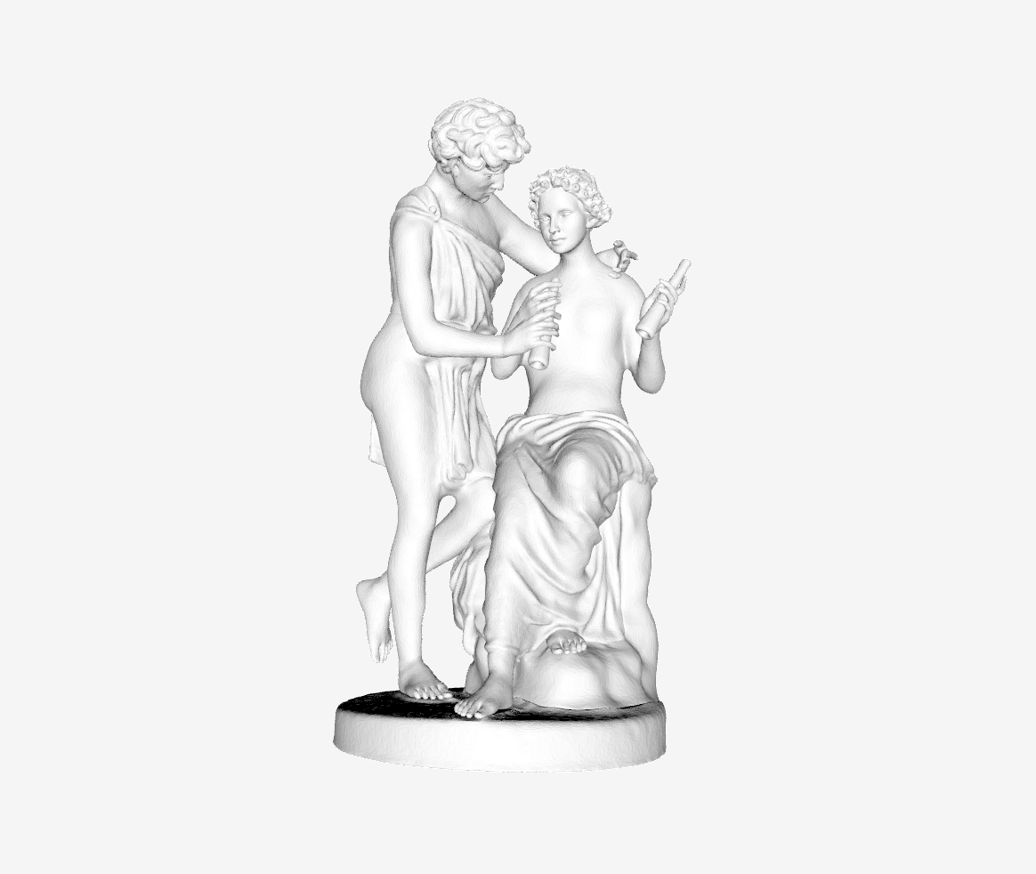 Capture d'écran 2018-09-21 à 14.15.43.png Download free STL file Daphnis and Chloe at The Louvre, Paris • 3D print object, Louvre