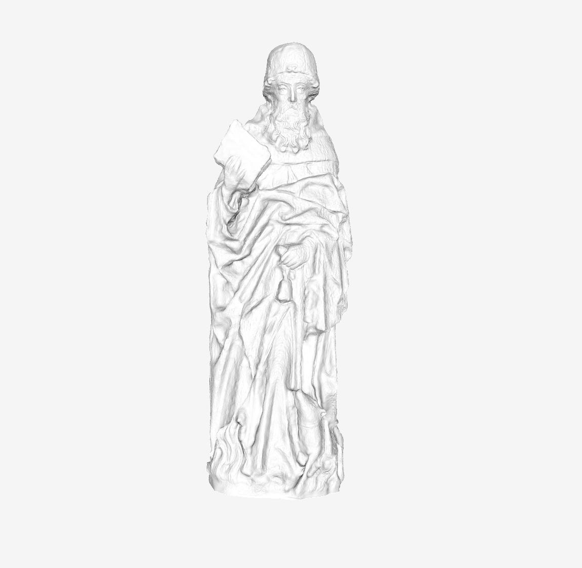 Capture d'écran 2018-09-21 à 17.57.49.png Download free STL file Saint Antoine at The Louvre, Paris • 3D printable model, Louvre