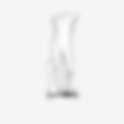 louvre-athlete-torso-1.stl Download free STL file Fragment of Diadoumenos at The Louvre, Paris • 3D printable model, Louvre