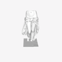 Download free 3D printing designs Section of Aphrodite at the Louvre, Paris, France, Louvre