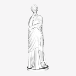 Download free STL file Julie en Ceres at The Louvre, Paris • 3D print model, Louvre