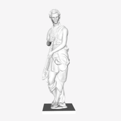 Capture d'écran 2018-09-21 à 16.17.19.png Download free STL file Funerary Spirit from the tomb of Philippe Chabot at The Louvre, Paris • Design to 3D print, Louvre