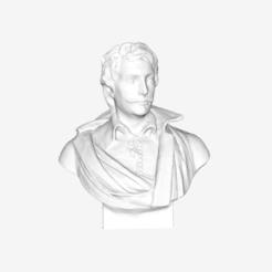Free 3D printer files Dominique de Vic at The Louvre, Paris, Louvre