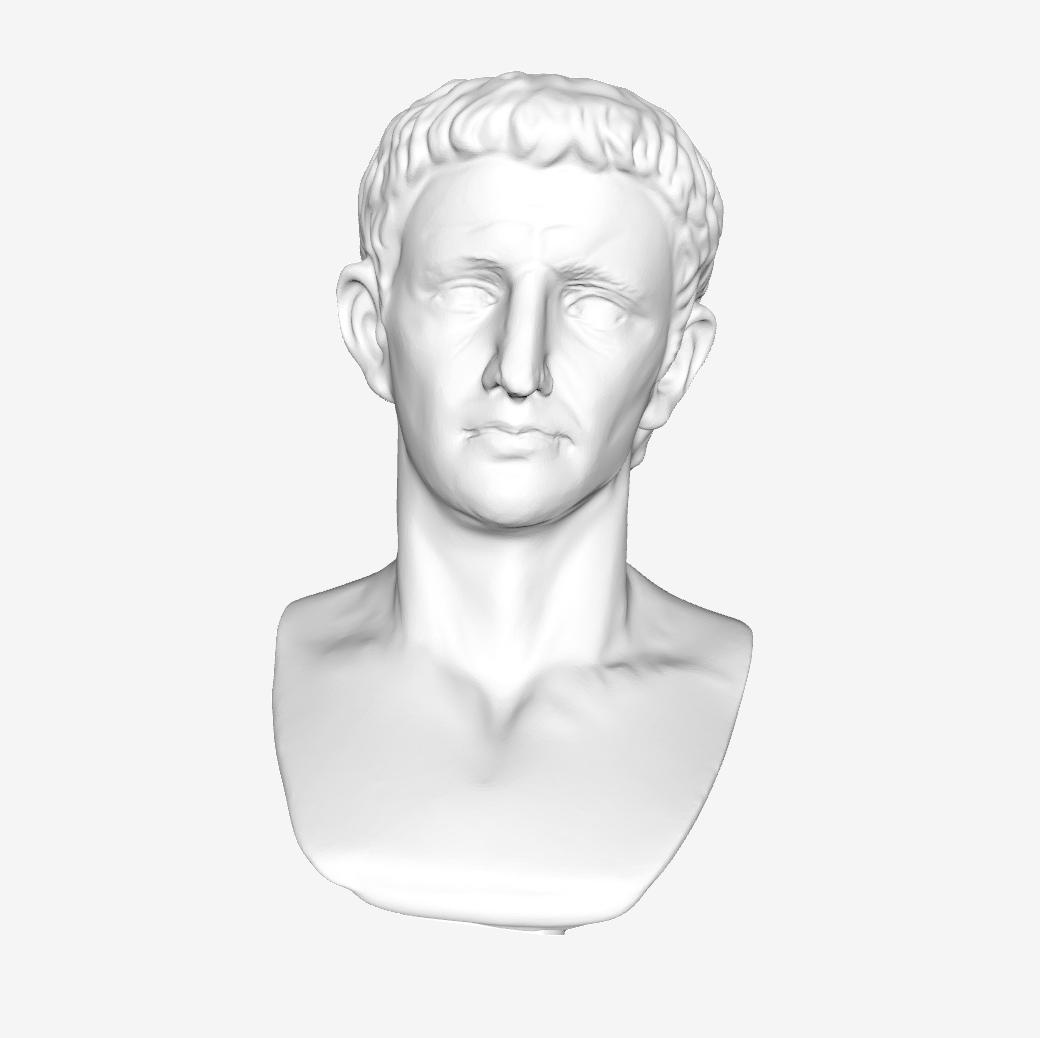 Capture d'écran 2018-09-21 à 16.28.05.png Download free STL file Emperor Claude at The Louvre, Paris • Template to 3D print, Louvre