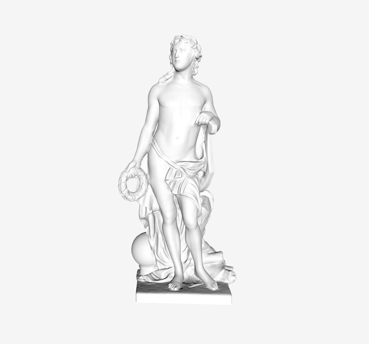 Capture d'écran 2018-09-21 à 10.15.02.png Télécharger fichier STL gratuit Apollo ou les Beaux-Arts au Louvre, Paris • Plan pour imprimante 3D, Louvre
