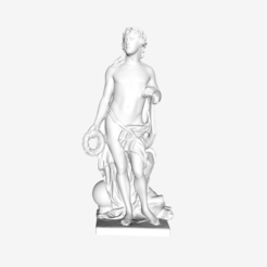 Download free 3D printer designs Apollo ou les Beaux-Arts at The Louvre, Paris, Louvre