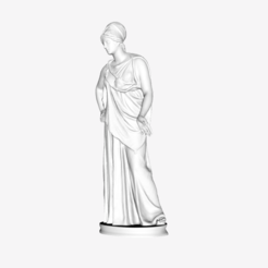 Download free STL file Mattei Athena at The Louvre, Paris • Object to 3D print, Louvre