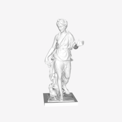 Download free 3D printer designs Companion of Diana at the Louvre, Paris, France, Louvre