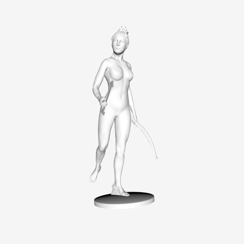 Capture d'écran 2018-09-21 à 12.05.37.png Download free STL file Diana the huntress at the Louvre, Paris, France • 3D print object, Louvre