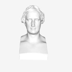 Free 3D printer files François Arago at The Louvre, Paris, Louvre