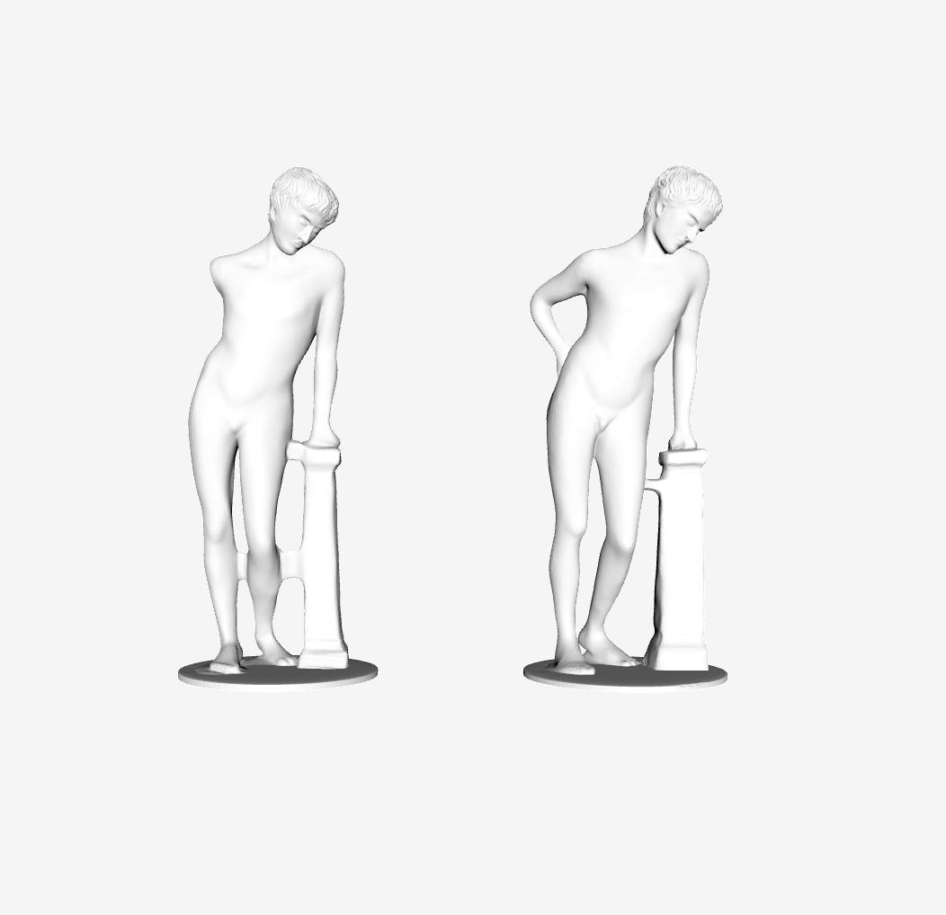 Capture d'écran 2018-09-21 à 10.31.31.png Télécharger fichier STL gratuit Narcisse (avec bras) au Louvre, Paris, France • Plan pour imprimante 3D, Louvre