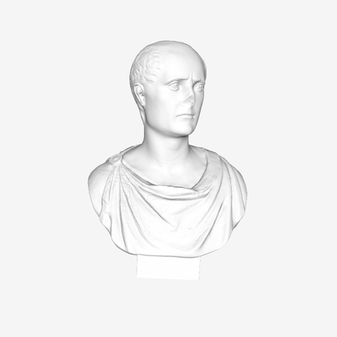 Download free 3D printer templates Cicero at The Louvre, Paris, Louvre