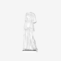 Download free 3D printer designs Athena at The Louvre, Paris, Louvre