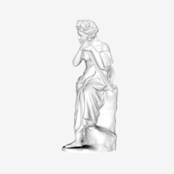 Download free 3D printer designs The Expectation at The Louvre, Paris, Louvre