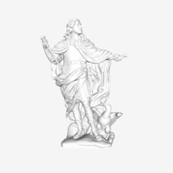 Download free 3D printer templates Louis XV as Jupiter at The Louvre, Paris, Louvre