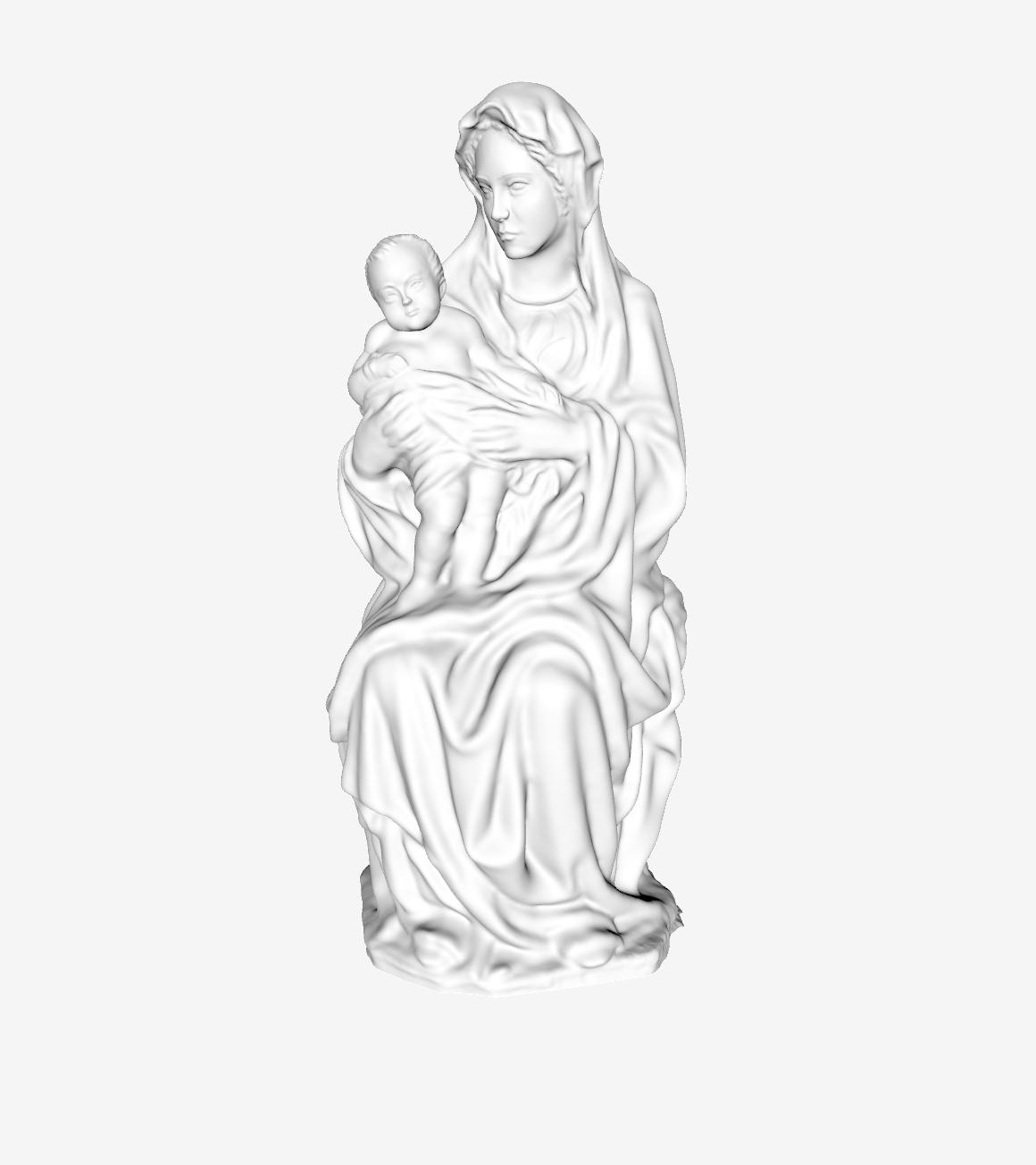 Capture d'écran 2018-09-21 à 13.35.43.png Download free STL file The Virgin and Child at The Louvre, Paris • 3D printer model, Louvre